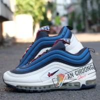 Giày Nike AirMax 97 Trắng Xanh