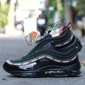Giày Nike AirMax 97 Undefeated Black