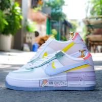 Giày Nike Air Force 1 Shadow Pale Ivory Kim Cương