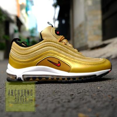 Giày Nike Air Max 97 Metalic Gold