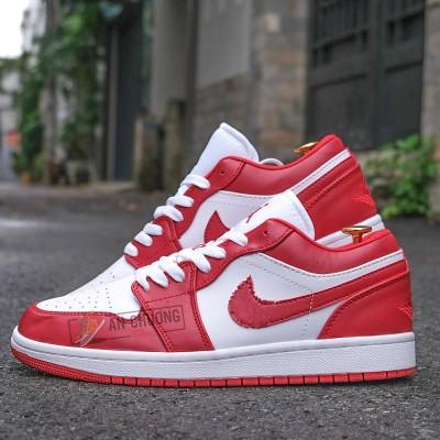 Giày Nike Air Jordan 1 Low Gym Red (Rep)