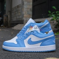 Giày Nike Jordan 1 Low Carolina Blue