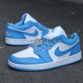Giày Nike Jordan 1 Low Carolina Blue
