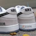 Giày Nike SB Dunk Low X Dior Grey Sail