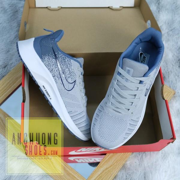 Giày Thể Thao Nike Zoom X Xám Xanh