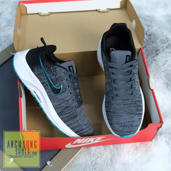 Giày Thể Thao Nike Zoom X Xám Xanh Ngọc