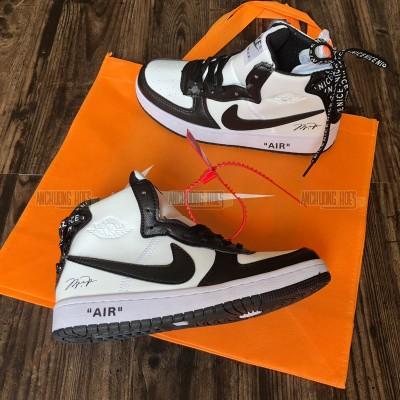 Giày Off White X Nike Air Jordan Trắng