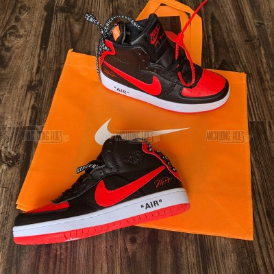 Giày Off White X Nike Air Jordan Đen