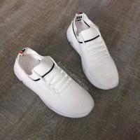 Giày Thể Thao Thời Trang Nữ Trắng Sọc