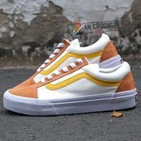 Giày Vans Style 36 Retro Sport Cam Vàng