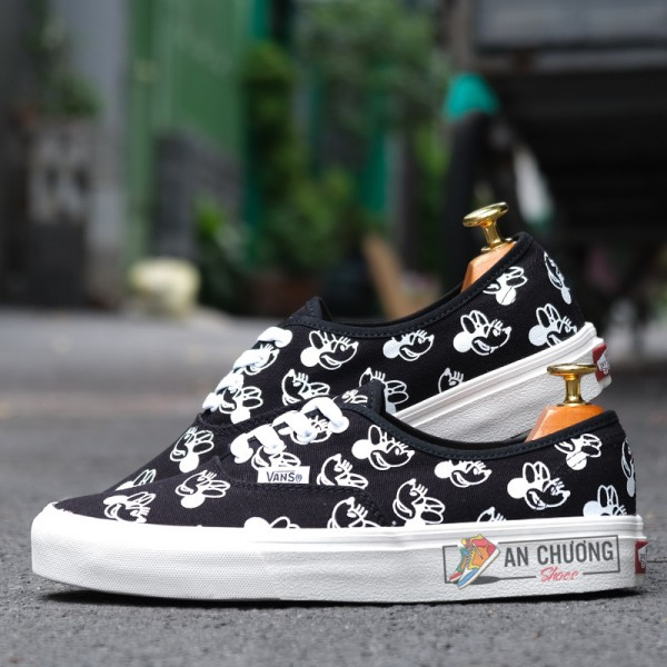 Giày Vans Era Disney Mickey Mouse Đen