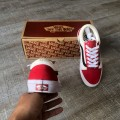 Giày Vans Old Skool Red Dahlia