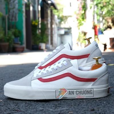 Giày Vans Style 36 Marshmallow Sọc Đỏ
