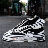 Giày Sneaker Xvessel Black