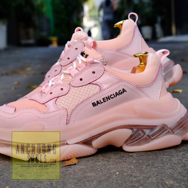 Giày Balenciaga Triple S Rep Pink
