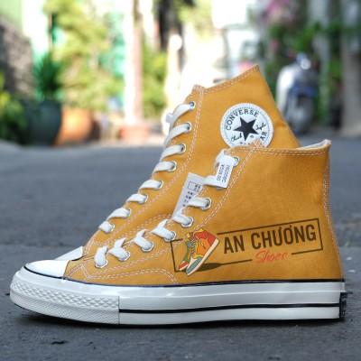 Giày Converse 1970s Rep Vàng Cao