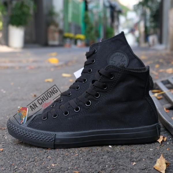 Giày Converse Classic AllBlack Cao