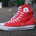 Giày Converse Classic Đỏ Cao