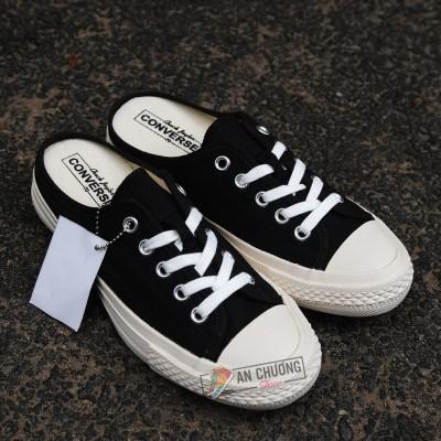 Giày Converse Đạp Gót Đen