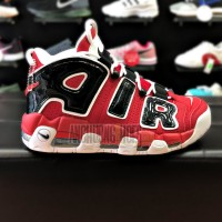 Giày Nike Air More Uptempo Black Red