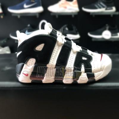Giày Nike Air More Uptempo White Black