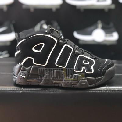 Giày Nike Air More Uptempo AllBlack