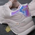 Giày Sneaker MLB Boston Hologram Bigball Chunky Shiny Pink
