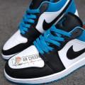 Giày Nike Air Jordan 1 Low Laser Blue (Rep)