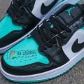 Giày Nike Air Jordan 1 Low Emerald