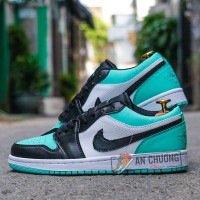 Giày Nike Air Jordan 1 Low Emerald