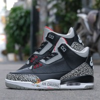 Giày Nike Air Jordan 3 Black Cement
