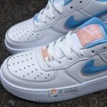 Giày Nike Air Force 1 Trắng Xanh
