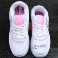 Giày Nike Air Force 1 Shadow White Magic Flamingo
