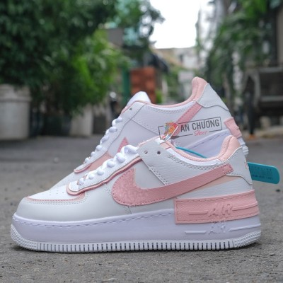 Giày Nike Air Force 1 Shadow Pink