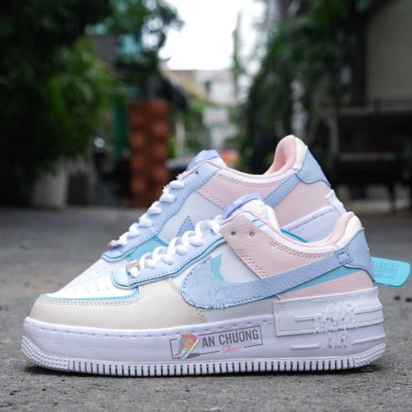 Giày Nike Air Force 1 Shadow Macaroon Candy