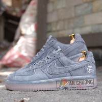 Giày Nike Air Force 1 Reigning Champ Dark Grey Black