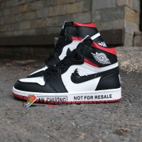 GIÀY NIKE AIR JORDAN 1 NOT FOR RESALE VARSITY RED