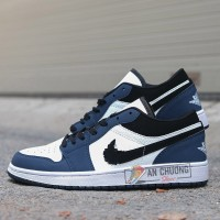 Giày Nike Air Jordan 1 Retro Low Navy