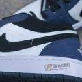 Giày Nike Air Jordan 1 Retro Low Navy
