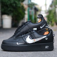 Giày Nike Air Force 1 Low Utility AllBlack