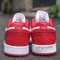 Giày Nike Air Jordan 1 Low Gym Red (Rep)