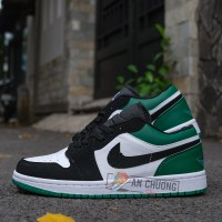 Giày Nike Jordan 1 Low Pine Green (Rep)