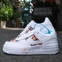 Giày Nike Air Force 1 shadow Burberry