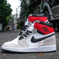 Giày Nike Air Jordan 1 High Og Light Smoke Grey (Rep)
