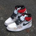 Giày Nike Air Jordan 1 High Og Light Smoke Grey (Rep)