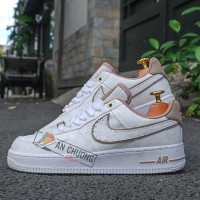 Giày Nike Air Force 1 '07 LX White