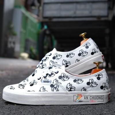 Giày Vans Era Disney Mickey Mouse Trắng