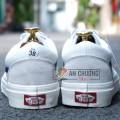 Giày Vans Style 36 Marshmallow Sọc Xanh